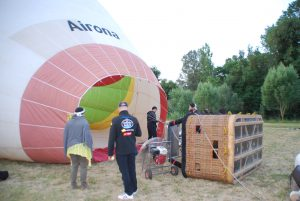 Airona-you can see firsthand how we prepare the balloon