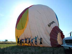 ECONOMIC Balloon flight
