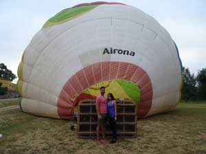 Exclusive balloon ride weekdays with Airona